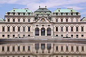 Palace Belvedere Stock Photography - Image: 10174512