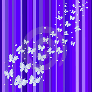 Blue Banner. Vector Illustration Stock Photo - Image: 10174710