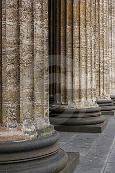 Classical Marble Columns Stock Photography - Image: 10175252