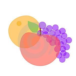 Imagine Fruit Illustration Stock Photography - Image: 10176092