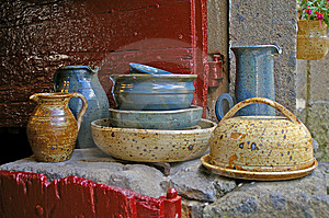 Ceramic Tableware Stock Images - Image: 10176124