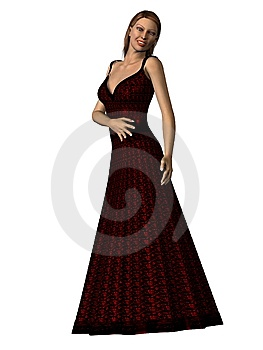 Contemporary Holiday Dress Royalty Free Stock Photos - Image: 10176748