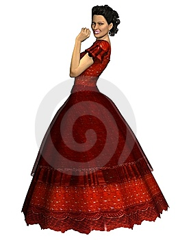 3D Render Holiday Dress Stock Image - Image: 10176751