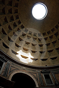 The Dome Of The Pantheon Stock Photography - Image: 10177742