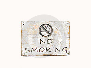 No Smoking Sign Royalty Free Stock Photography - Image: 10178177