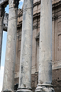Columns Stock Image - Image: 10180501