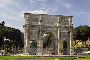 Roman  Arch Stock Photography - Image: 10182452