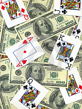 Money And Cards Royalty Free Stock Photo - Image: 10182745