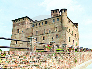 Grinzane Cavour Castle Stock Photo - Image: 10183740