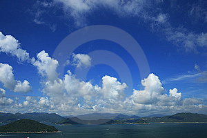 Sky And Sea Stock Images - Image: 10187194