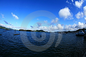 Sky And Sea Royalty Free Stock Photo - Image: 10187315