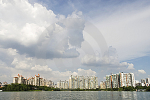 Modern Community Stock Image - Image: 10188591