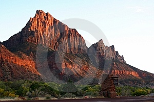 Zion National Park Royalty Free Stock Images - Image: 10192959