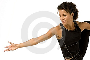 Woman Fitness Royalty Free Stock Photo - Image: 10193895
