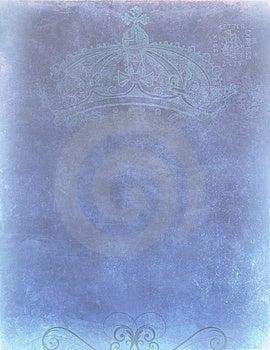 Smokey Blue Crown Royalty Free Stock Photography - Image: 10194137
