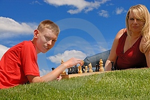 Family Play Royalty Free Stock Photos - Image: 10194598