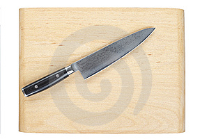 Kitchen Knife Royalty Free Stock Photo - Image: 10195985