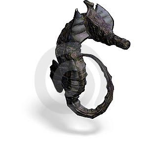 Fantasy Seahorse Royalty Free Stock Photography - Image: 10196737