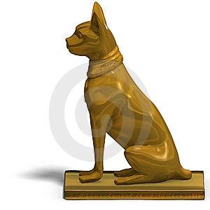 Bast Statue Royalty Free Stock Photo - Image: 10196745
