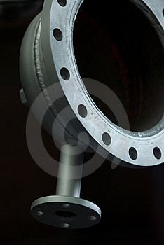 Plumbing Component Abstract Royalty Free Stock Photography - Image: 10198087