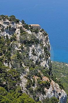 Stronghold Monolithos,island Rhodes,Greece Royalty Free Stock Photos - Image: 10198718