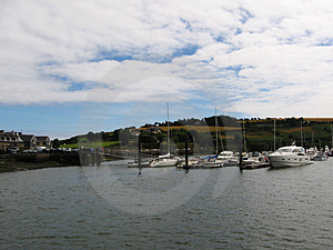 Boats At The   Harbour Stock Images - Image: 1028814