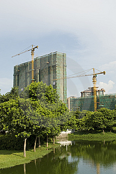 City Under Construction Stock Images - Image: 10200714