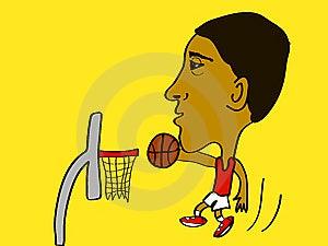 Slam Dunk Stock Image - Image: 10204231