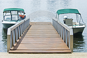 Boats At The Dock Stock Image - Image: 10204331