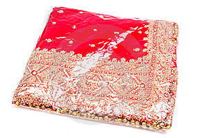 Packed Bridal Lehnga Stock Photo - Image: 10204630