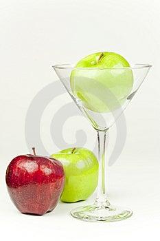 Apple Martini Royalty Free Stock Photos - Image: 10205598