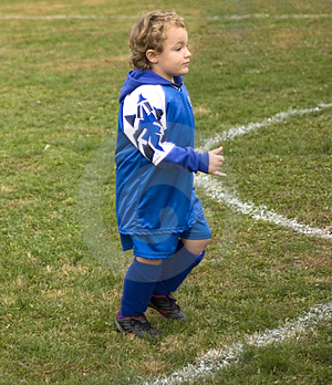 Soccer Player Running Stock Photography - Image: 10207122