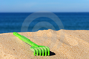 Kindergrünes Spielzeug Lizenzfreies Stockbild - Bild: 10207506