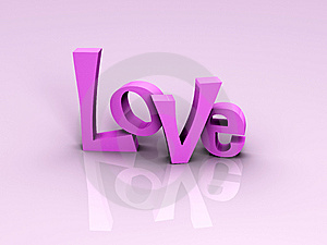 Love With 2 Hearts Stock Photos - Image: 10208343