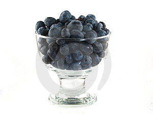 Bowl Of Blueberries Stock Photo - Image: 10208670
