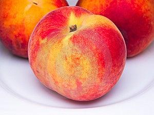 Three Juicy Peaches Royalty Free Stock Photo - Image: 10209745