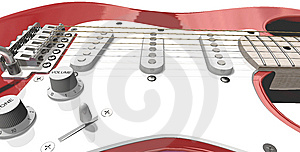 Electric Guitar Stock Image - Image: 10214811