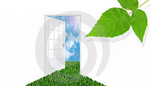 Door To The Sky Royalty Free Stock Photos - Image: 10216838