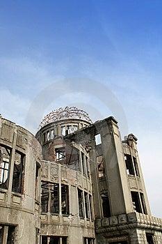 A-Bomb Dome, Hiroshima Stock Image - Image: 10216841
