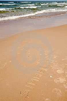 Summer At Sea Stock Photography - Image: 10217472