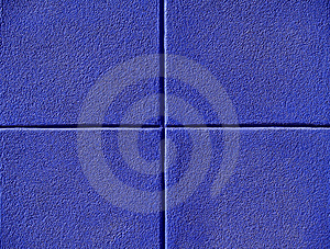 Four Blue Squares Stock Image - Image: 10220761