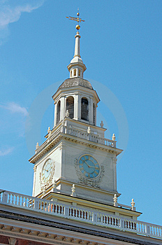 Independence Hall Tower Royalty Free Stock Images - Image: 10221339