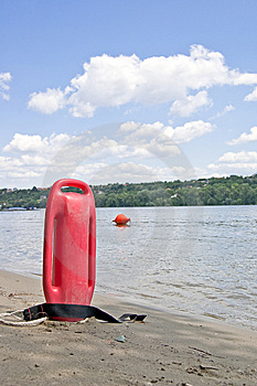 Lifeguard Equipment Royalty Free Stock Photography - Image: 10221447