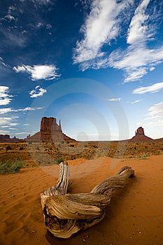 Landscape In Monument Valley Royalty Free Stock Photography - Image: 10223077
