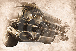 Old Car Royalty Free Stock Image - Image: 10229226