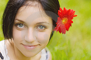 Portrait Of Beauty Girl Royalty Free Stock Photography - Image: 10229297
