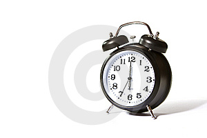 Six o'clock already Royalty Free Stock Image