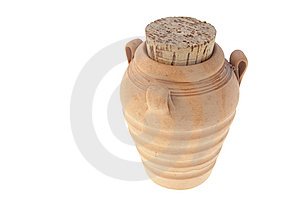Jug With A Cork Stock Photos - Image: 10231823