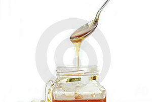 Honey Jar Royalty Free Stock Photos - Image: 10231878