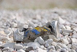 Metal Rubbish Stock Image - Image: 10231911